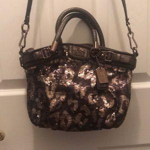 Madison Sequin Mini Sophia satchel